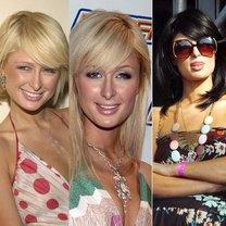 Paris Hilton fryzury