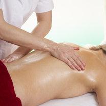 masaż pleców - krok 1