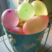 Balony z wodą