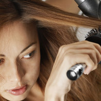 Puszyste włosy