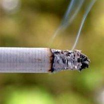 Dym z papierosów