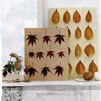 dekoracje z liści jesiennych
