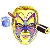 Makijaż - motyl