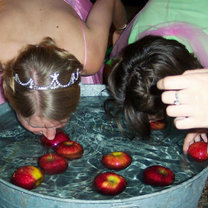 Łapanie jabłek