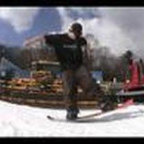 ollie snowboard