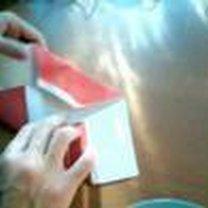 Mikołaj origami