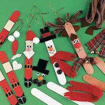 Mikołaj - dekoracje na choinkę
