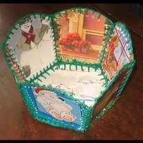 Koszyk świąteczny