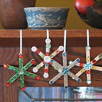 Gwiazdki bożonarodzeniowe - dekoracja