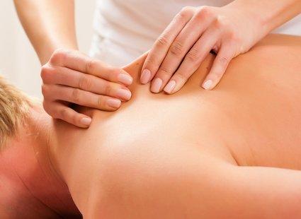 Ugniatanie - masaż pleców