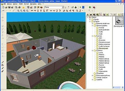 sam zaprojektuj dom, wnętrze i ogród