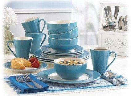 Niebieskie naczynia