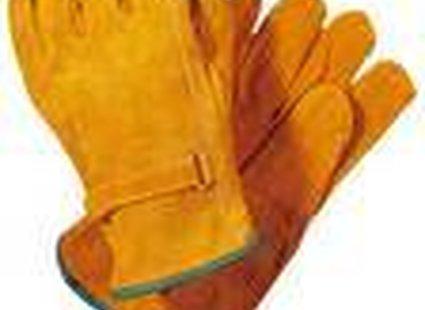 Rękawiczki zamszowe