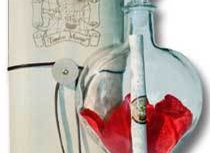 Butelka z listem