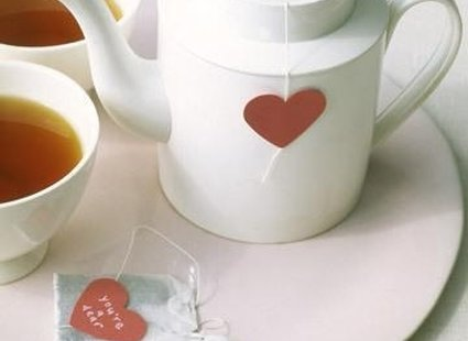 Herbata z serduszkiem