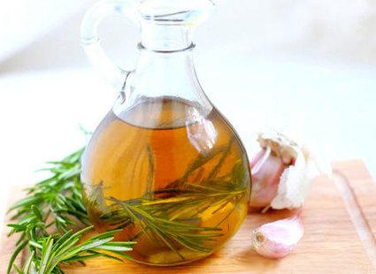 czosnek i oliwa