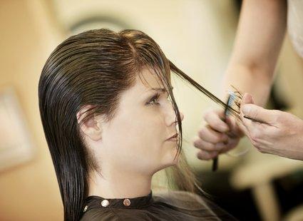 sposoby na puszyste włosy - krok 1