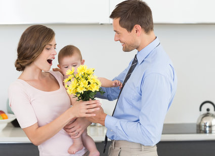 pomysły na prezent z okazji Dnia Matki - krok 1