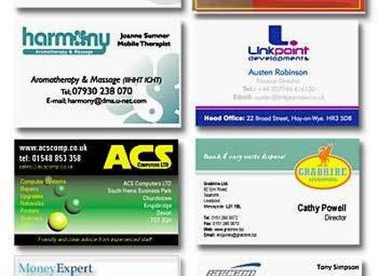 Wizytówki Firm
