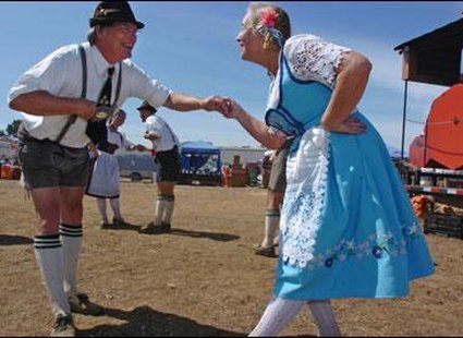 Tańce na Oktoberfest