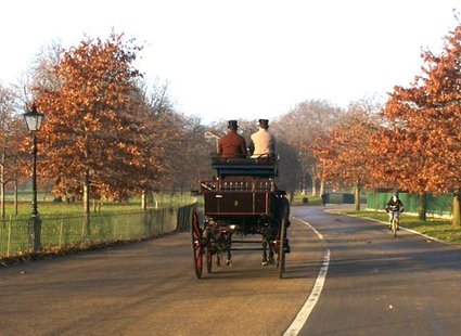 Hyde Park w Londynie