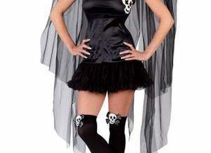 Czarna wróżka - przebranie na Halloween