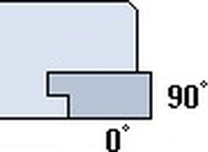 Standardowe ustawienie krawędzi