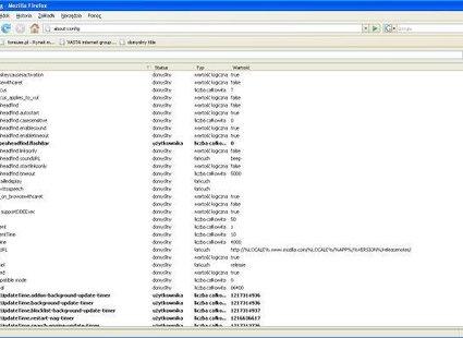 firefox, konfiguracja, przeglądarki