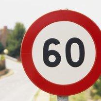 ograniczenie prędkości do 60 km/h