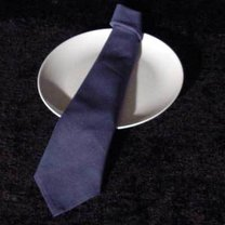 Składanie serwetek - krawat