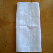 Składanie chusteczek - męska koszula 3