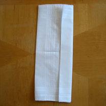 Składanie chusteczek - męska koszula 4
