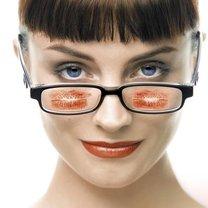 dobór makijażu do okularów