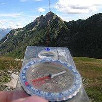 używanie kompasu