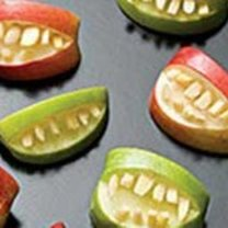 Usta potwora - przekąska na Halloween