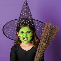 Makijaż czarownicy na Halloween