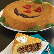przepis na Halloween - meksykańskie Tamale w kształcie wydrążonej dyni