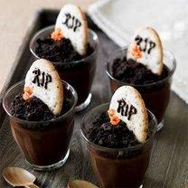 Czekoladowy deser na Halloween - przepis