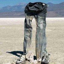 dobrze nakrochmalone spodnie