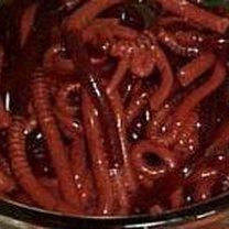 robaki z galaretki - przepisy na Halloween