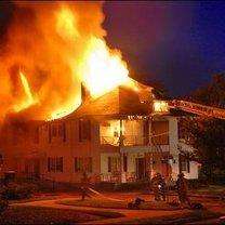 pożar w domu