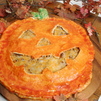 placek Halloween - przepis