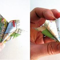 instrukcja wykonania bombki z papieru 3