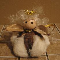 bombka - aniołek - zrób to sam