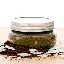 peeling z kawy, awokado i miodu