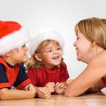 dzieci na święta