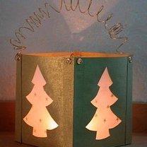 lampion na Boże Narodzenie