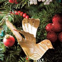 gołąbek - ozdoba choinkowa ręcznie robiona