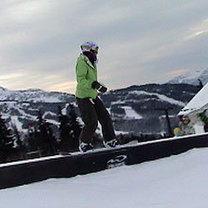 50-50 snowboard
