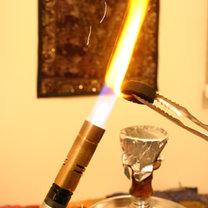 rozpalanie węgli do sziszy